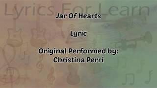 Jar Of Hearts (Lyrics) - Christina Perri