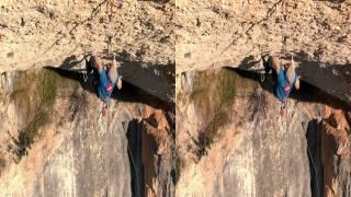 Iker Pou climbs Nit de bruixes, 9a+, Margalef, Spain