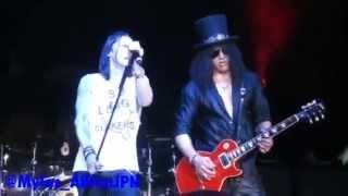 "Slash feat. Myles Kennedy & the Conspirators - ""Iris of the Storm"" world premiere Sporthalle Hamburg"