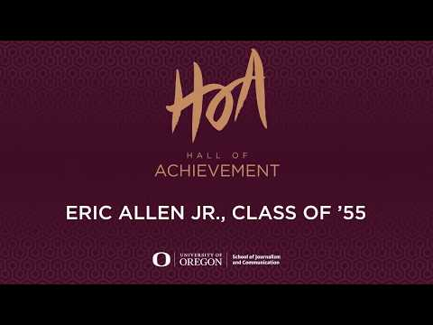 Hall of Achievement 2017 honors  Eric Allen Jr , Class of '55