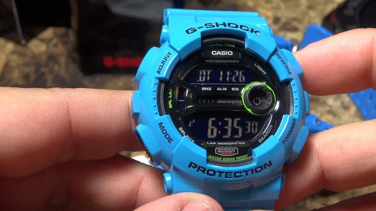 Superb casio g-shock gd-100 3263 gents outdoor watch with manual.