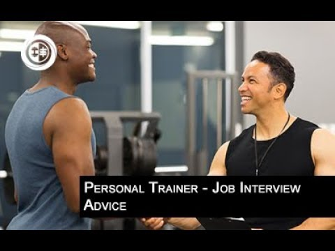 Personal Trainer Job Interview Advice