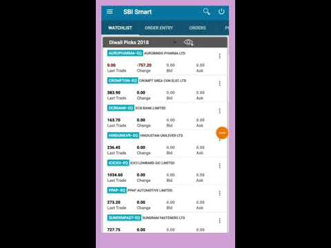 How To Trade With Sbi Smart ,trading Kaise Kare Sbi Smart Se