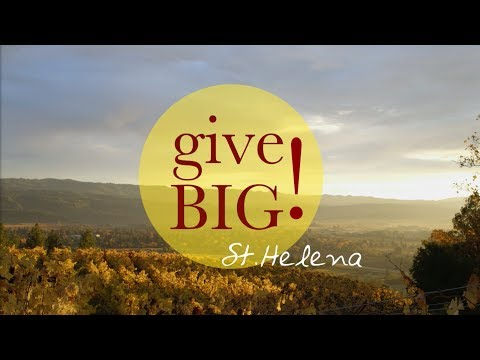 What does it mean to Give BIG! to St. Helena Public Schools?