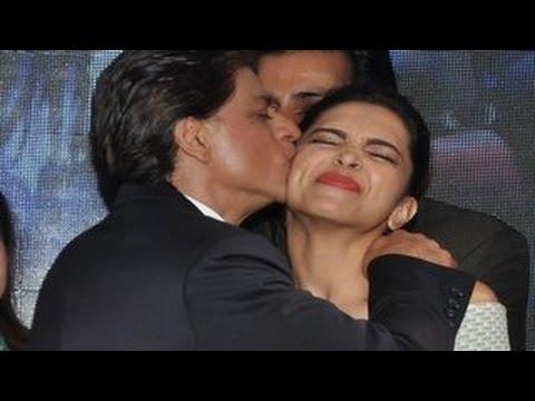Shahrukh Khan KISSES Deepika Padukone in...