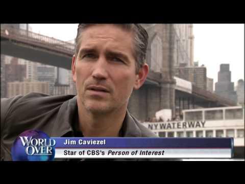 Jim Caviezel EXCLUSIVE on EWTN's World Over Live with Raymond Arroyo  20131121