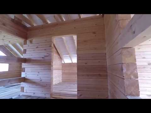 Дом из бруса, 8х10 м в Стерлитамаке тел. 8 987 588 65 63