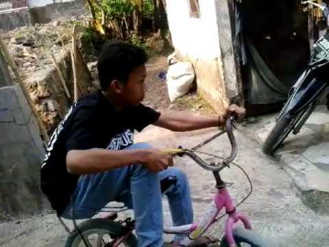 joki sepeda gagal