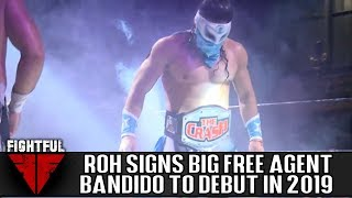 Bandido Signs Full-Time Contract With Ring Of Honor | Fightful Wrestling