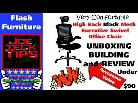High Back Black Mesh Executive Swivel Office Chair | Flash Furniture | JoeteckTips