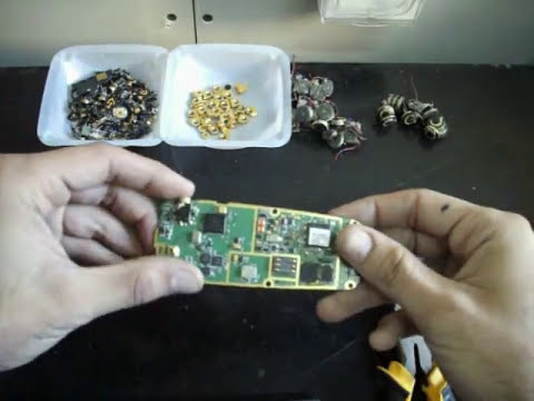 Thumbnail: How to Scrap old Cell Phones for *Gold Recovery