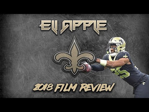 CB Eli Apple | Saints 2018 Film Study | Reviewing trade with New York Giants