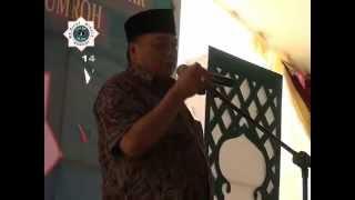 Sambutan3,Tasyakuran Haji & Umroh Ma'rifat Kab Lebak
