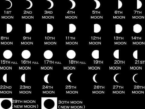 Man Made Vs Moon Calendar Youtube