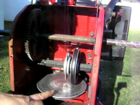 Craftsman 48 Inch Belt Diagram Snowblower Maintenance How To Lube Your Self Propelled