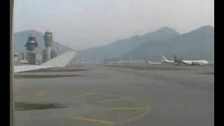 Boeing 747-400 Take-Off & Start-Up Hong Kong w/ ATC - KLM Cargo