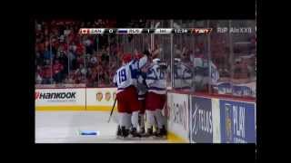 IIHF WJC 2012 1\2 Канада-Россия 5-6 (комментатор Розанов)