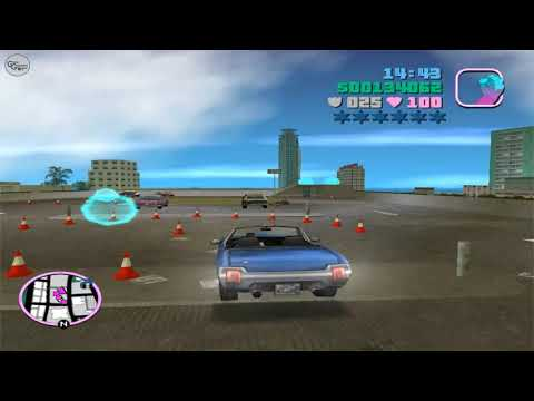 GTA Vice City | Side Mission 05 (Cone Crazy)