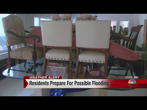 Meyerland residents prepare for possible flooding