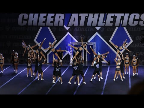 Cheer Athletics Wildcats Blue Debut 2017-2018