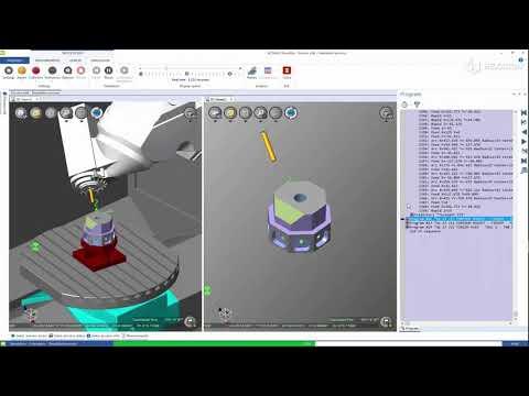 ALPHACAM 2021 | NCSIMUL - Machine 2