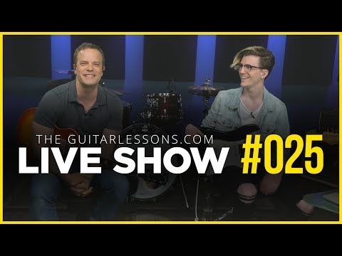 How To Improvise On The Guitar – Live Show #025