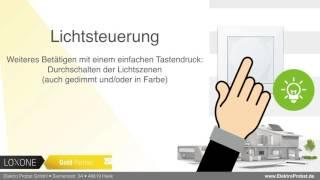 Loxone Touch - Funktionsweise und Bedienkonzept im Detail