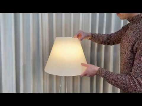 Lampadari ceramica decorati a mano napoli. Luceplan Costanza By Paolo Rizzatto Youtube