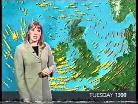 BBC 6 O' Clock News 2001 - with weather & continuity