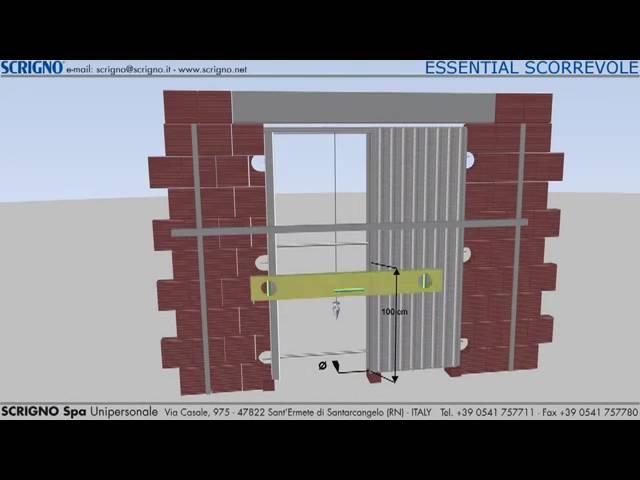 Scrigno Pocket Door Cassette Installation Youtube