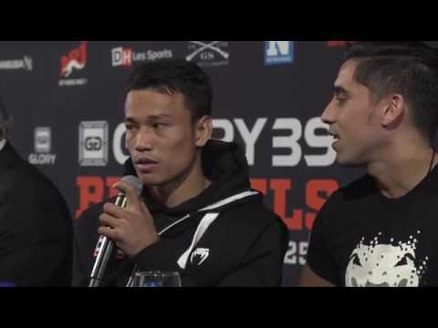Glory 39 BRUSSELS Post Fight Press Conference