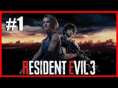 TIME TO GET SCARED! | Resident Evil 3 Remake #1 - (Live Stream)