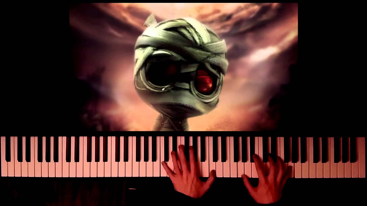 partition piano the curse of the sad mummy