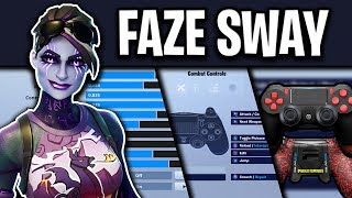 Faze Sway's NEW Fortnite Sensitivity, Controller & Setup (UPDATED)