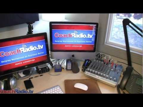 Coach Radio Podcast Studio Tour
