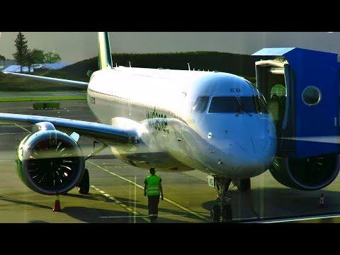 TRIP REPORT | Widerøe NEW Embraer E190-E2 | Bergen - Hamburg | Economy Flex