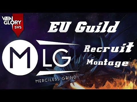 VAINGLORY 5v5 EU GUILD MERCILESS GRIND RECRUIT MONTAGE