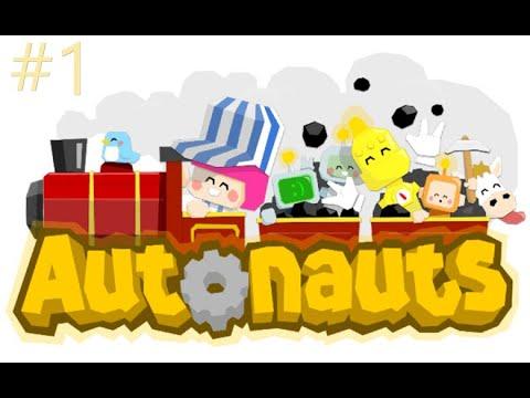 Autonauts episode 1 : Le magna du bois !