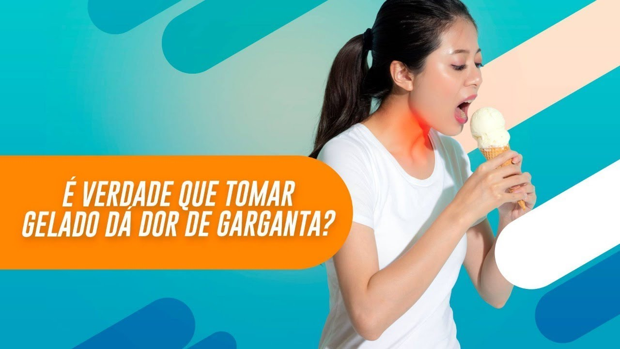 beber agua gelada faz mal pra garganta