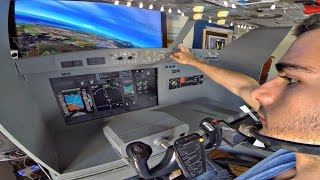 PMDG 737 Home Cockpit - Athens to Kos - IVAO GR Holy Light Transport - FSX Full Flight