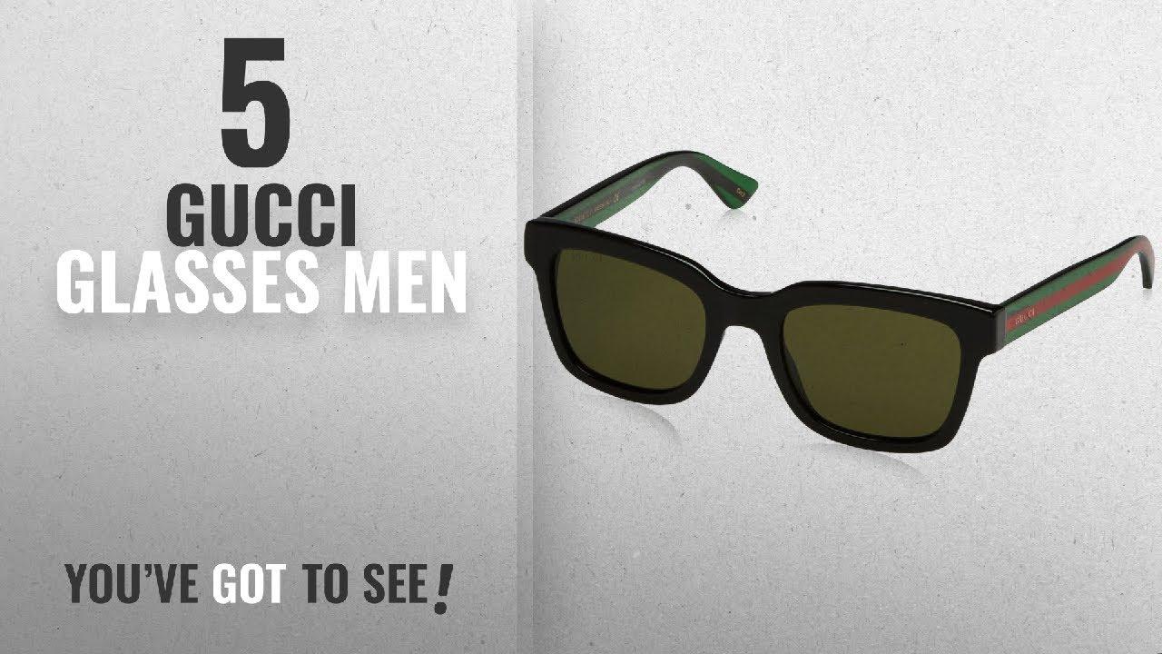 90133ffb4307 Top 10 Gucci Glasses Men [2018]: Gucci Sunglasses GG0001S BLACK, 52 ...