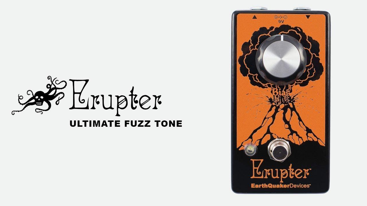 Erupter Classic Fuzz Tone Pedal