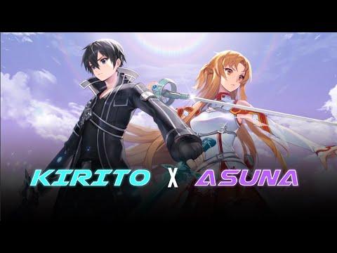 Khi Kirito Hắc kiếm sĩ và Asuna Tia chớp kết hợp chiêu thức - Garena Liên Quân Mobile