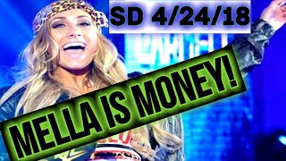 WWE SDLive 4/24/18: Carmella Becoming A Money SuperStar! Nakamura Continues Heel Dominance!