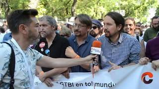 World Pride Madrid 2017 - Cabecera de manifestación