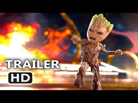 Thumbnail: GUARDIANS OF THE GALAXY 2 - BABY GROOT Dance Tv Spot Trailer (2017) Blockbuster Movie HD