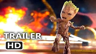 GUARDIANS OF THE GALAXY 2 - BABY GROOT Dance Tv Spot Trailer (2017) Blockbuster Movie HD