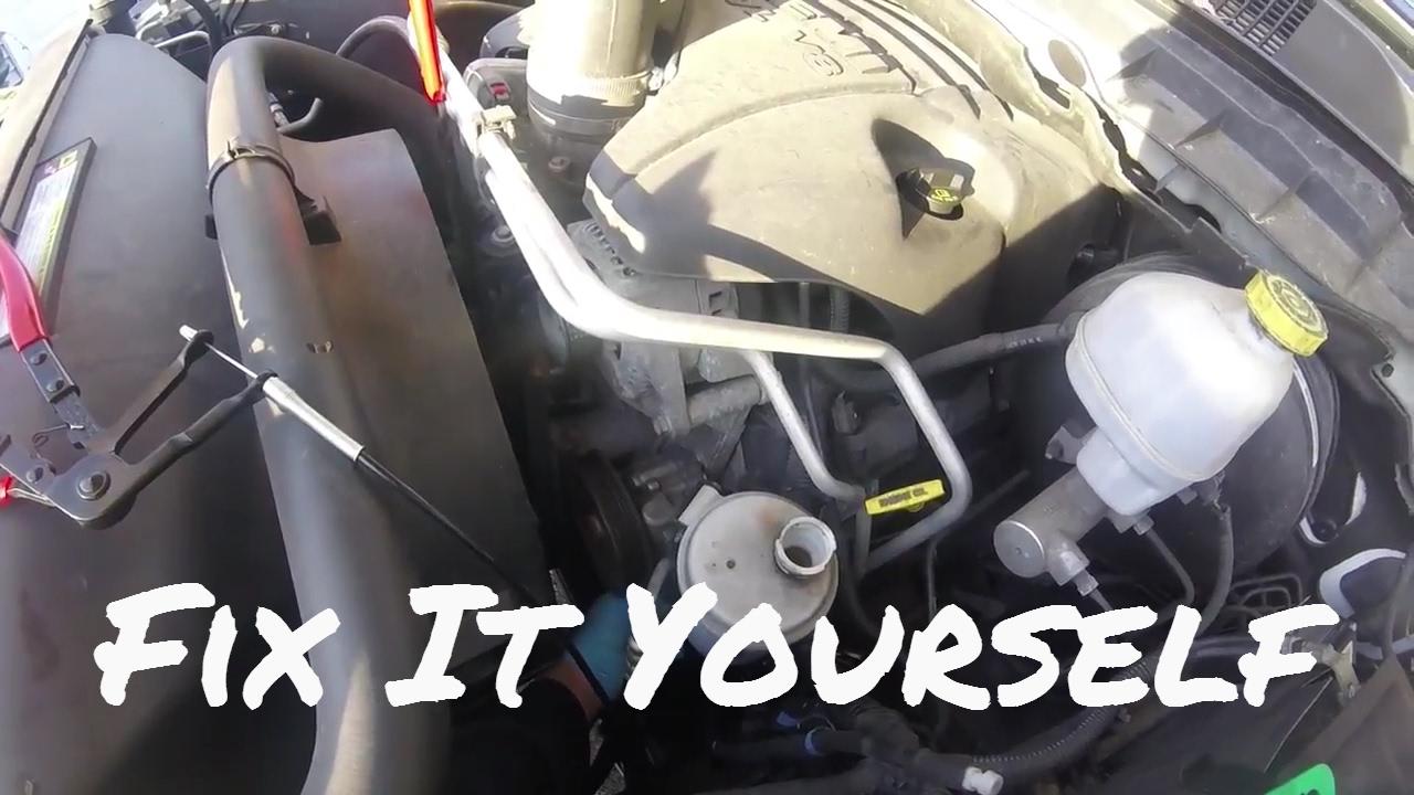diy 2010 ram power steering pump [ 1280 x 720 Pixel ]