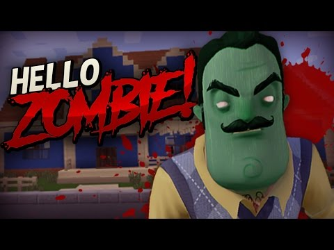 HELLO NEIGHBOR EN MINECRAFT |  Hello Zombie