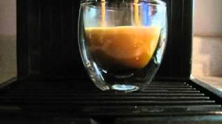 Espresso in een Bodum Pavina glaasje